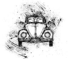 Volkswagen Brouk White pohyblivý animovaný obrázek gif animace Animated Scribble zdarma stažení Scribble, How To Make Money, Animation, Make It Yourself, The Originals, Top, Doodles, Animation Movies, Crop Shirt