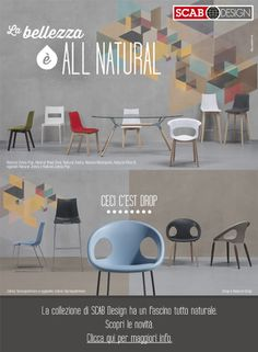 SCAB DESIGN - La bellezza è ALL NATURAL