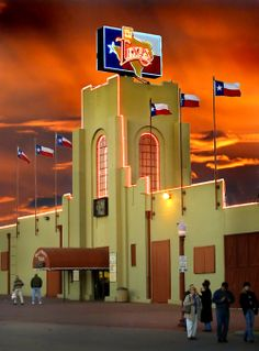 Billy Bob's, world's largest honky-tonk. Forth Worth, TX.