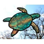 Stained Glass SEA TURTLE...