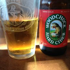 Woodchuck Amber hard cider is smooth with a clean finish.  It's not too sweet and has a light apple flavor.  Very refreshing!