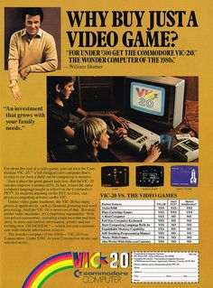 great vintage video games advert, do you remember trying this game?