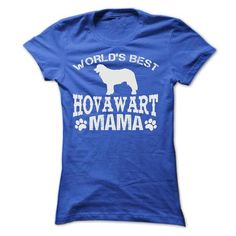 WORLDS BEST HOVAWART MAMA T Shirts, Hoodies. Check price ==► https://www.sunfrog.com/Pets/WORLDS-BEST-HOVAWART-MAMA-SHIRT-Ladies.html?41382 $22.9