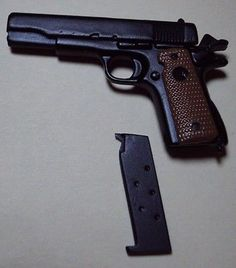 1/6 Scale 45 Caliber Pistol for GI Joe(TM) ***THIS IS A TOY***