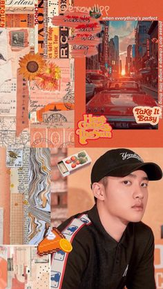 Kyungsoo, Chanyeol, Exo Wallpaper Hd, Orange Wallpaper, Kai, Exo Stickers, Exo Lockscreen, Exo Ot12, Do Kyung Soo