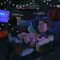 When I was a kid I think my ultimate fantasy was a comfy spaceship. I was making this image for Comic Tutorial, Animated Cartoon Characters, Ship Drawing, Color Script, Keys Art, Learn Art, Cg Art, Environment Concept Art, Visual Development