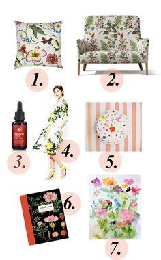 Botanical Bliss / Get started on liberating your interior design at Decoraid (decoraid.com).