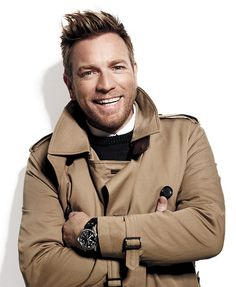 Ewan McGregor: this man's got the most stylish hair.