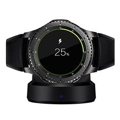 Shop for Awinner Charger For Galaxy Gear , Replacement Usb Charger Adapter Charge Cord Charging Cable For Samsung Galaxy Gear Smart Watch (gear Charging Dock). Compare live & historic battery charger or tester prices. Smartwatch, Samsung Gear S3 Frontier, Desktop, Watch Gears, Usb, Iphone Accessories, Watch Accessories, Watches For Men, Samsung Galaxy