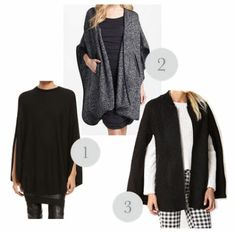 This season? Capes > Cardigans.