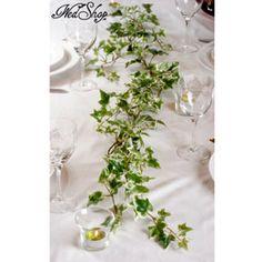 Murgröna som bordsdekoration