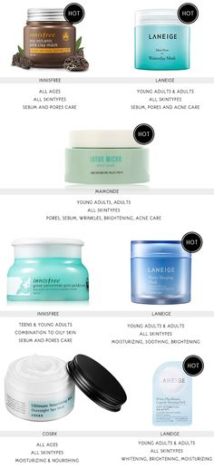 The Best Korean Products For Combination, Oily, Acne prone skins | Sun Hye Mi, Lifestyle and Korean beauty blog