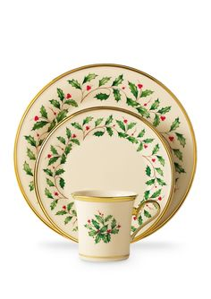 LENOX Holiday Dinnerware Set.  I've always loved this design.