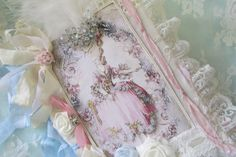 Marie Antoinette Collage Book  French  by underthenightmoon, $65.00