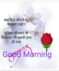 Good Morning Wishes, Good Morning Images, Hindi Quotes, Thoughts, Dil Se, Night, Images Of Good Morning, Ideas, Tanks