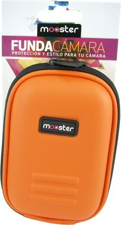Funda Mooster camara fotos digital naranja MBC55-OR Lunch Box, Geek Stuff, Orange, Tents, Beds, Gift, Tecnologia, Bento Box
