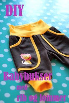 Babybuksemønster i større størrelser