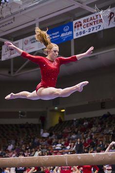 Brooke - Explored #467 by Kyle Ford   www.phoenixfotos.com, via Flickr  gymnastics, gymnast #KyFun