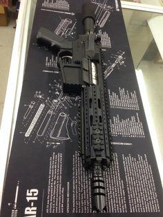 R&J Firearms 5.56 AR Pistol