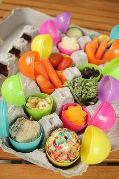 Easter Egg Lunch by a Kailo Chic Life | Fun and Healthy Kids Snack Ideas #easter #eastereggs #easterbasket #kids #lunchideas