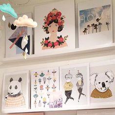 Bon dimanche!✌🏻️ #buk_nola #prints #poster #affiche #shopcorner #buketnola #shopmtl