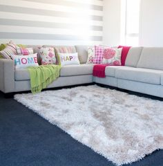 Boston Shaggy Rug by Mulberi - Remarkable Rugs - NZ online rugs store (Queenstown) - Rug   Rugs  