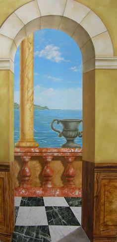 Decoration, Painting, Art, Interior Walls, Murals, Deceit, Decor, Art Background, Painting Art
