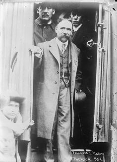 Francisco I. Madero en Pachuca -Revolución Mexicana