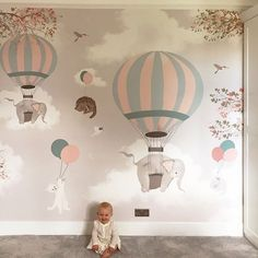 Wall paper for baby room wall paper for baby room wallpaper for baby rooms kids mural . wall paper for baby room Baby Bedroom, Baby Room Decor, Nursery Room, Boy Room, Kids Bedroom, Nursery Decor, Room Baby, Girl Rooms, Baby Nursery Wallpaper