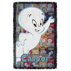 "Checkout our #LicensedGear products FREE SHIPPING + 10% OFF Coupon Code ""Official"" Casper The Friendly Ghost/Casper And Covers-Woven Throw-White - Casper The Friendly Ghost/Casper And Covers-Woven Throw-White - Price: $44.99. Buy now at https://officiallylicensedgear.com/casper-the-friendly-ghost-casper-and-covers-woven-throw-white"