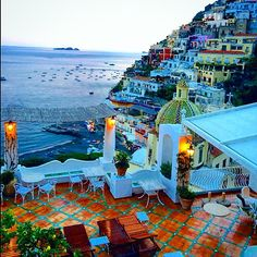 View from Le Sirenuse, Positano, Italy. Photo courtesy of fvlifestyle on Instagram.