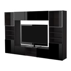Ikea on pinterest tv storage living room furniture and for Meuble 4 portes ikea