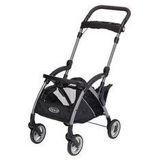 Graco SnugRider Elite Frame Stroller - Black
