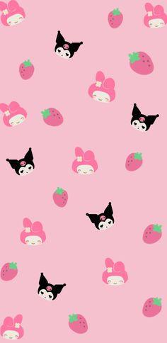 Kuromi & My melody wallpaper | Papel pintado de hello kitty, Fondo de pantalla de dibujos animados, Fondos de pantalla de gatos