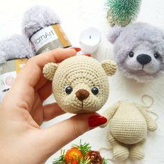 Crochet ideas that you'll love Crochet Teddy Bear Pattern, Easter Crochet Patterns, Crochet Rabbit, Crochet Bear, Crochet Patterns Amigurumi, Amigurumi Doll, Crochet Dolls, Knitting Bear, Knitting Toys