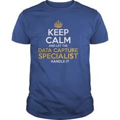 Awesome Tee For Data Capture Specialist T-Shirts, Hoodies. Check Price Now ==►…