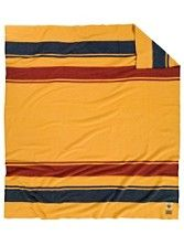 Celebrating 100 Years of Pendleton Park Blankets! This here is the Yellowstone one.