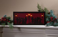 Ohio Wholesale Christmas Carolers Lighted Canvas 65 x 155 >>> This is an Amazon Affiliate link. Check out this great product.