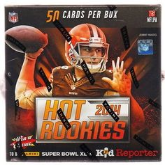 cool 2014 PANINI HOT ROOKIES FOOTBALL HOBBY BOX sp auto rc odell beckham bridgewater - For Sale