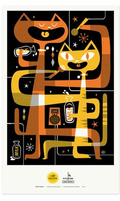 Pets Rock Posters - Lab Partners
