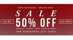 Now Extended #Sale 50% Off . Shop from the #USA through #iShopinternational.com