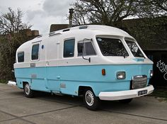1974 HANOMAG-HENSCHEL F20L Orion Motorhome.Futuristic aerodynamic camper with polyester body. The Mercedes grille isn't original. Orion also made mobile-homes on VW T2 chassis in the 1970s.