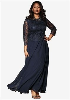 c904241f156b Plus Size Lace Popover Dress Special Occasion Dresses