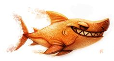 Day 564. Sand Shark by Cryptid-Creations.deviantart.com on @deviantART