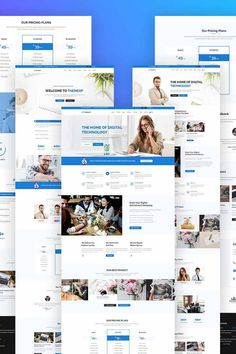 Themexp - #corporate  #psd  #template