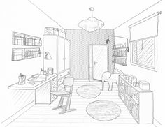 dessin chambre pr ado salle de jeux commune interior. Black Bedroom Furniture Sets. Home Design Ideas
