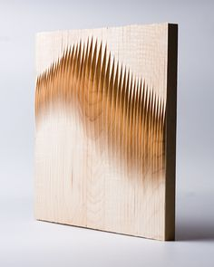 WOODwave paneling by Eliza Mikus and Nóra NémethFinnagora and hg.hu - WoodCave Finnish-Hungarian Student Design Competition - 1st prizeWe wanted to create a surface with a decorative and awareness-raising function, so people can observe it when they pas…