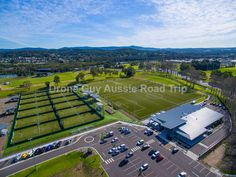Soccer Fields Speers Point Lake Macquarie NSW Australia - Lake MacQuarie Regional Football Facility