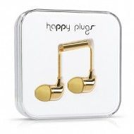 The Goods: Gold Earbuds for Fusing Music and Fashion
