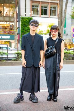 5efd2f3b8e0 All Black Vintage Street Fashion w  Comme des Garcons